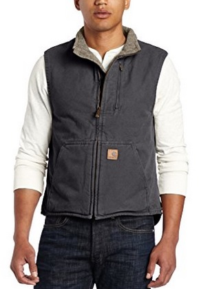 Carrhart Sandstone Mock-Neck Vest