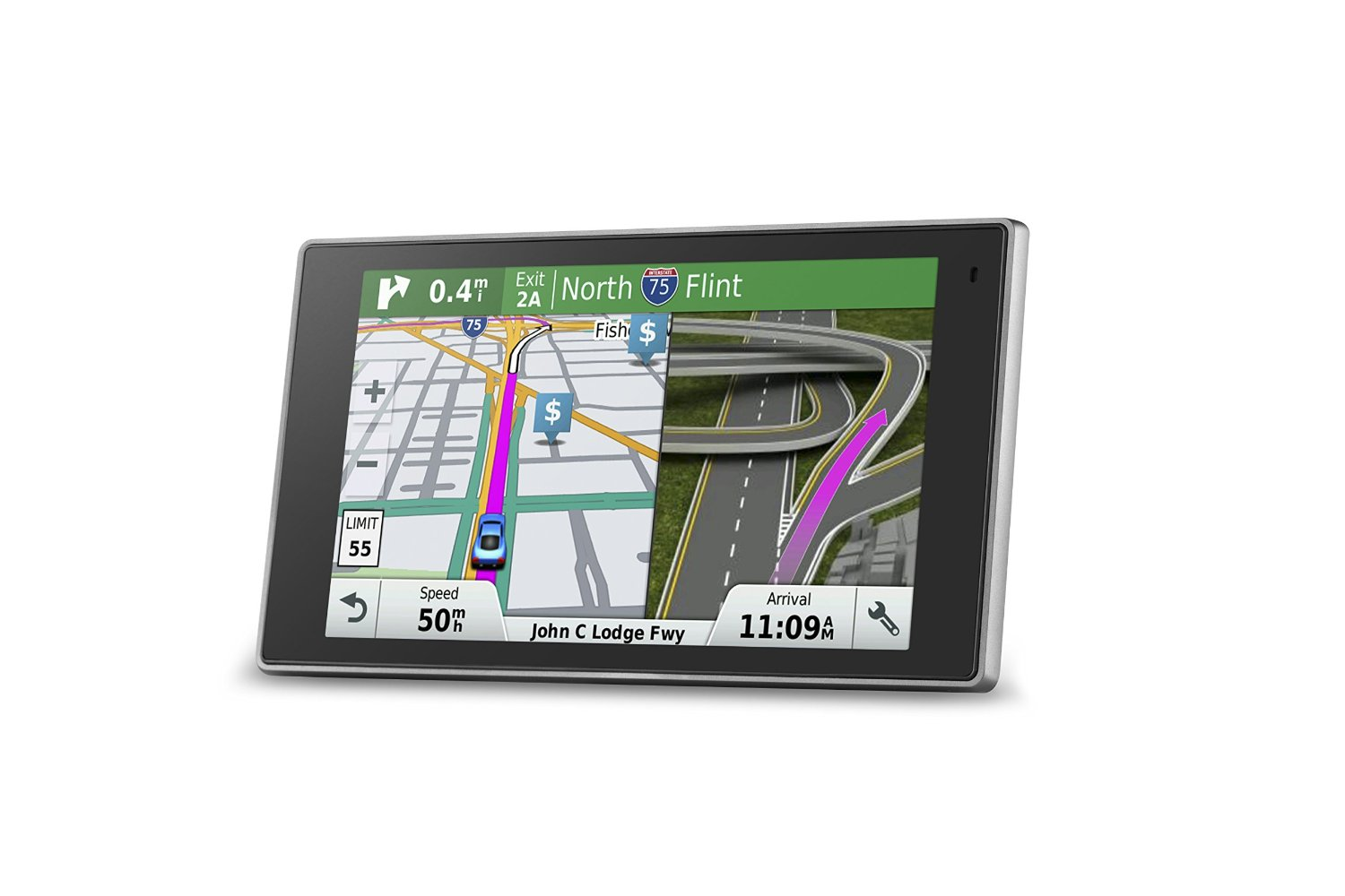 Garmin DriveLuxe™  Portable Navigation Device with Hands Free Calling and Smart Notifications