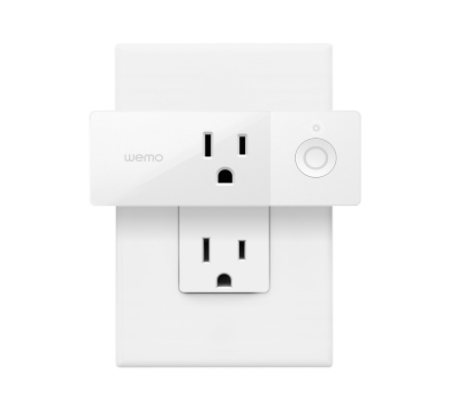 Wemo WiFi Enabled Mini Smart Plug