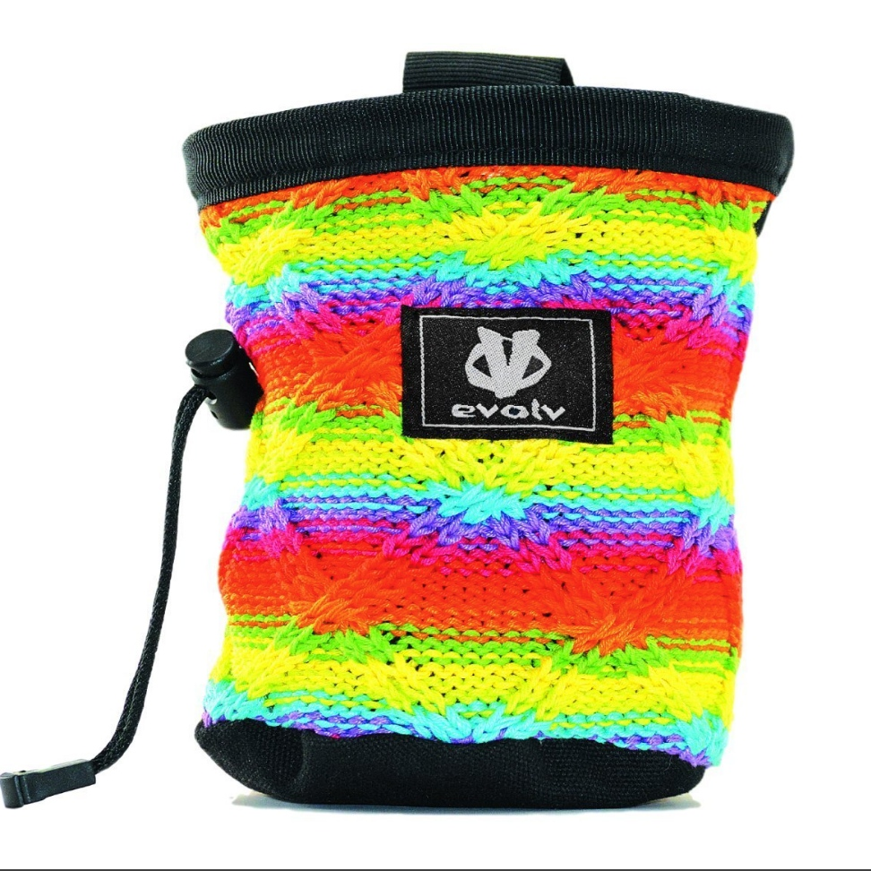 Evolv Knitted Chalk Bag