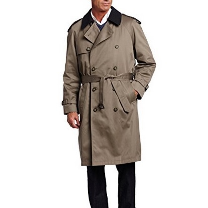 Hart Schaffner Marx Classic Fit Trench Coat
