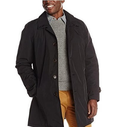 Tommy Hilfiger Poly-Twill Trench Coat