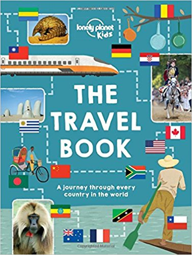 Lonely Planet The Travel Book: A Journey Through Every Country in the World for Ages 8 – 12 – World Encyclopedia Available in Kindle or Hardcover