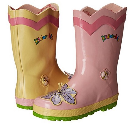 Kidorable Lotus Flower Rain Boots