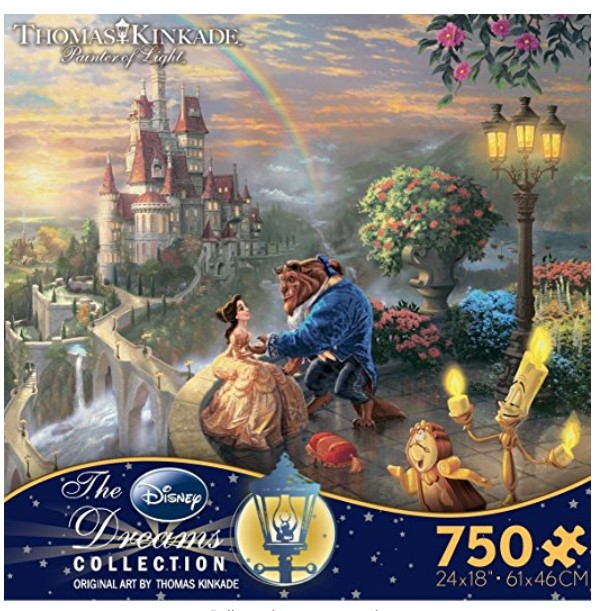 Ceaco Kinkade Beauty and The Beast Puzzle