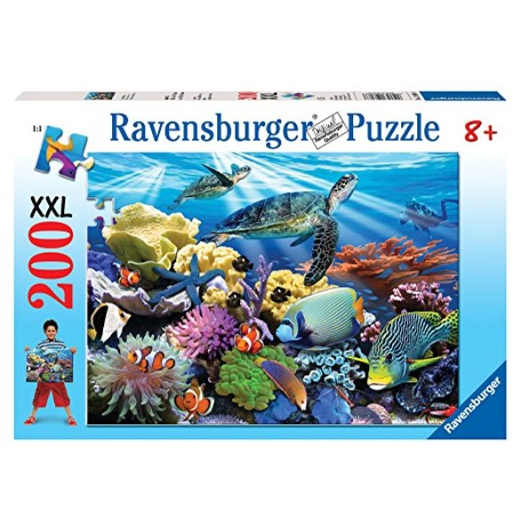 Ravensburger Ocean Turtles 200-Piece Puzzle