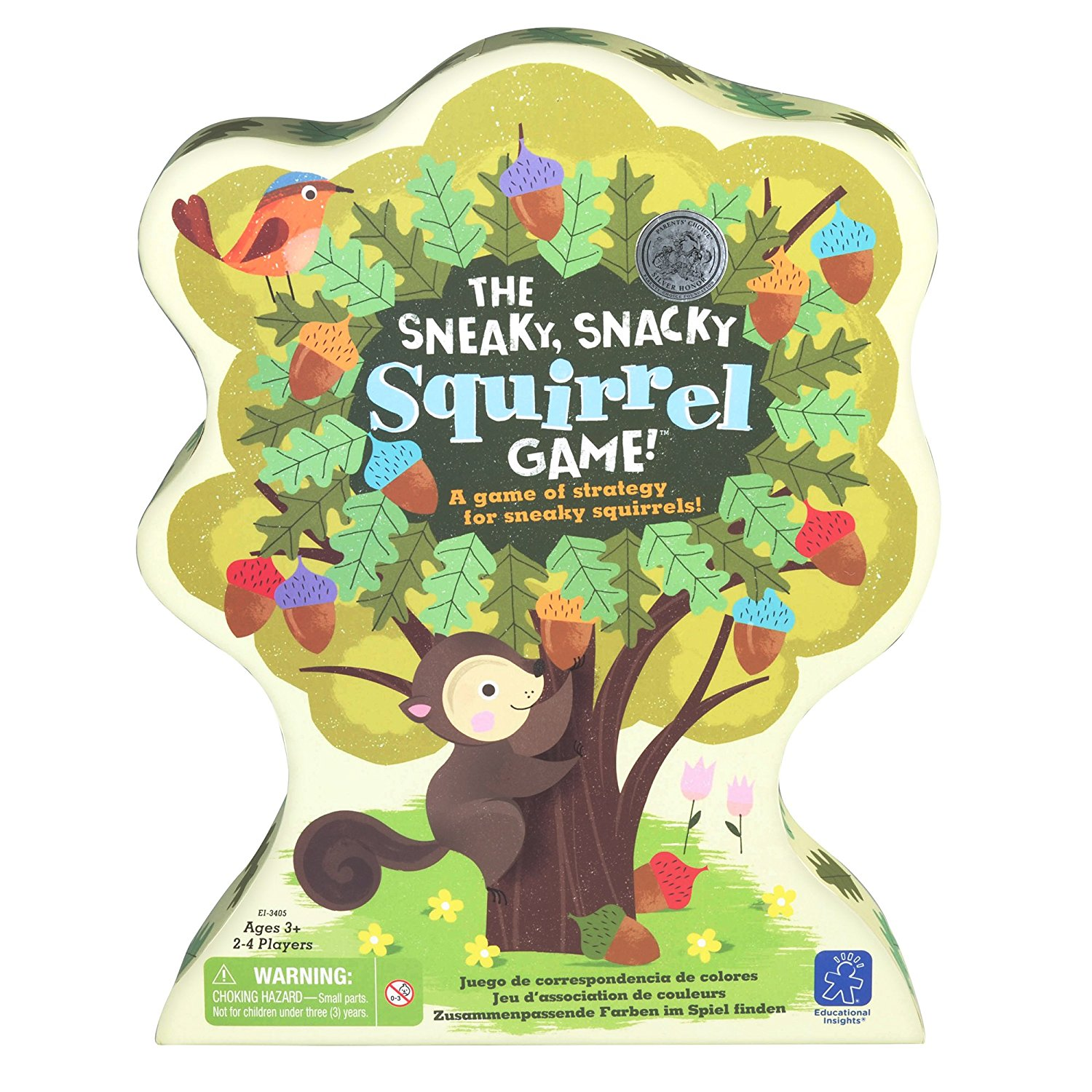 Educational Insights Snacky Squirrel Game