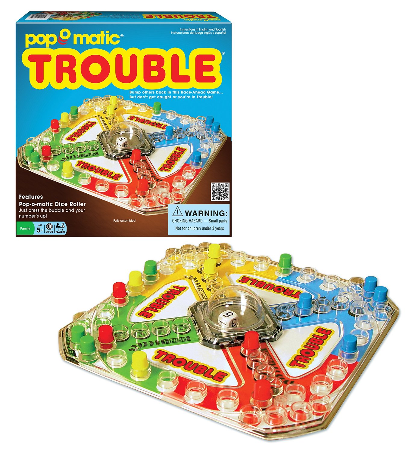 Winning Moves Games Trouble® Classic Edition