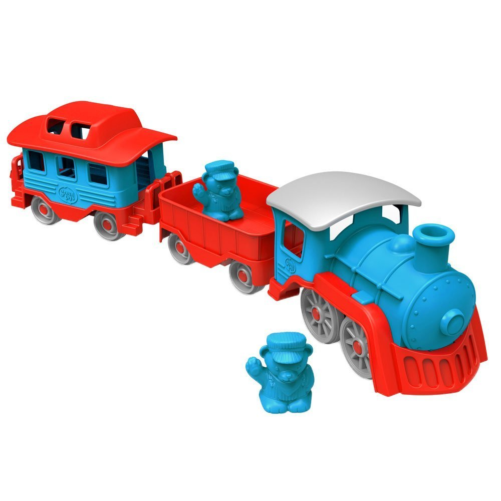 Green Toys Blue/Red Train Set