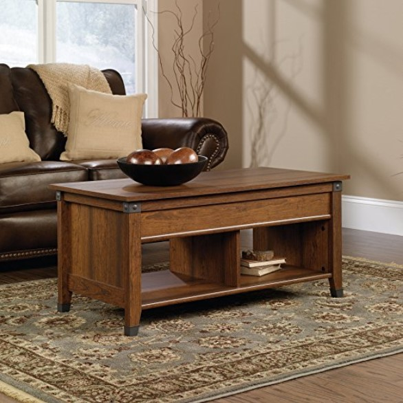 Sauder Carson Forge Wooden Coffee Table