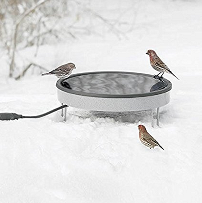 Erva Ground Heated Bird Bath