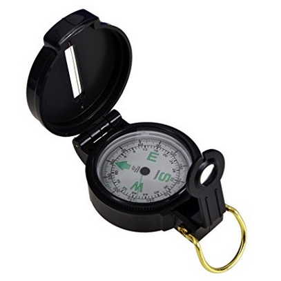 Coghlan's Liquid Filled Lensatic Compass
