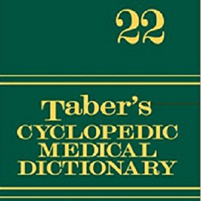Donald Venes' Taber's 23rd Edition Cyclopedic Medical Dictionary
