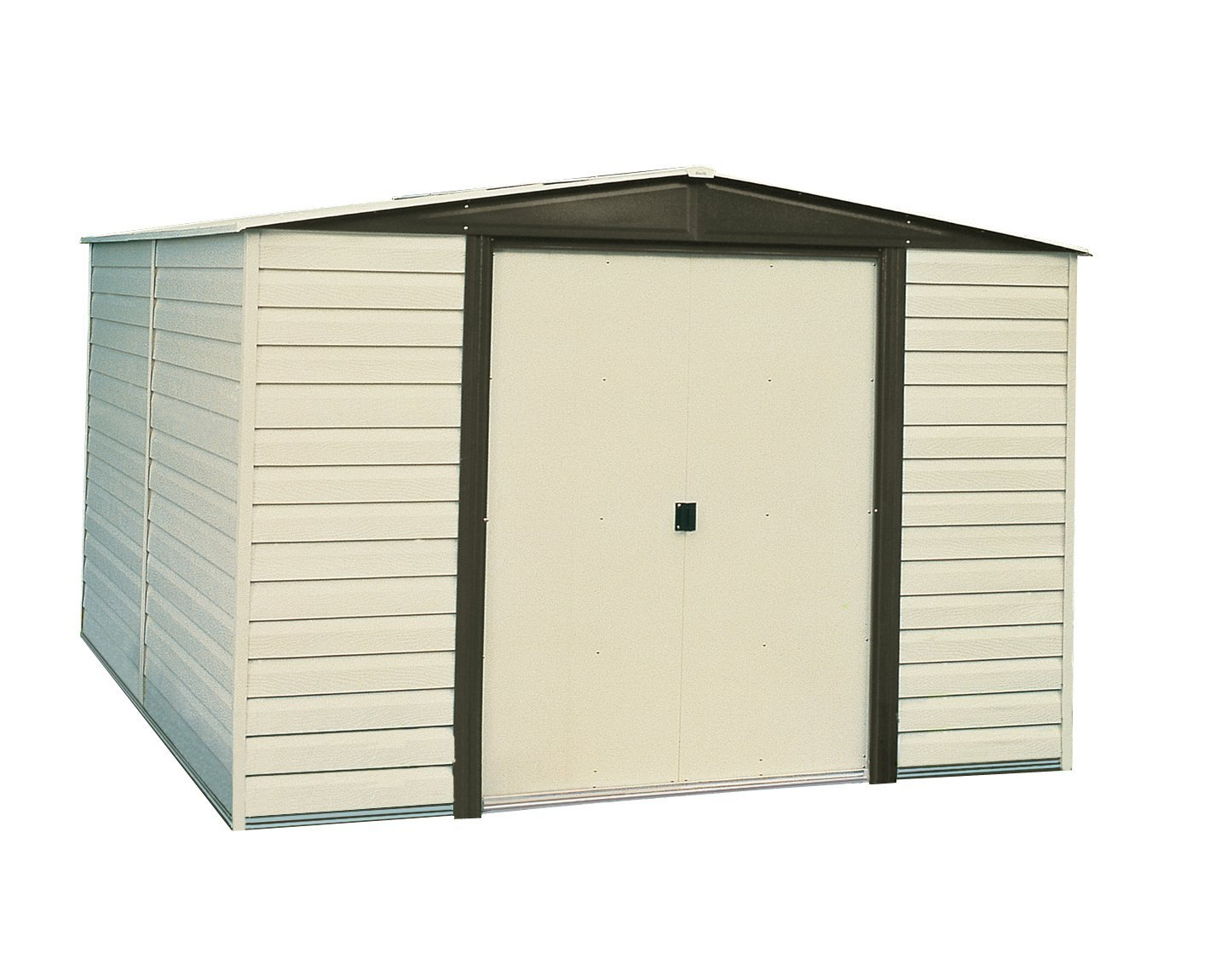 Arrow Dallas Vinyl Coated Storage Shed