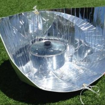 Haines Solar Cooker with Sleeve & Cover