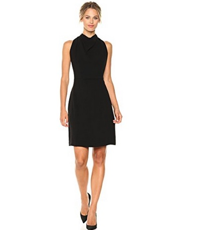 Maggy London 30s Crepe Fit & Flare Dress