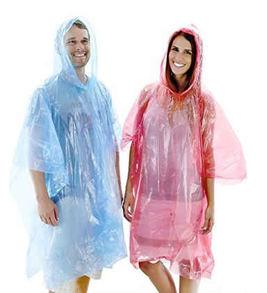 Wealers One Size Fit Most Rain Poncho