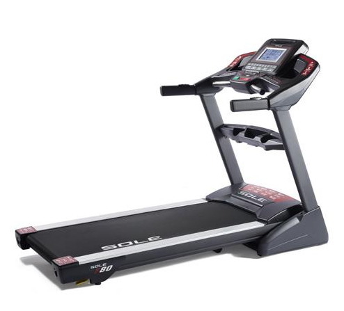 Sole Fitness F80 Motorized Treadmill with 3.5 Horsepower and up to 12mph Speed