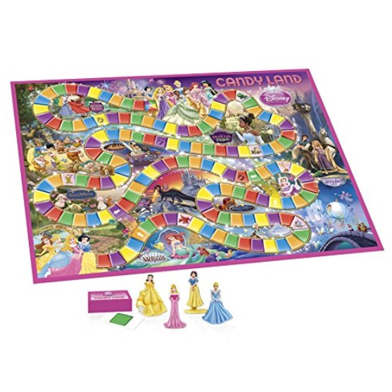 Hasbro Candy Land: Disney Princess Edition
