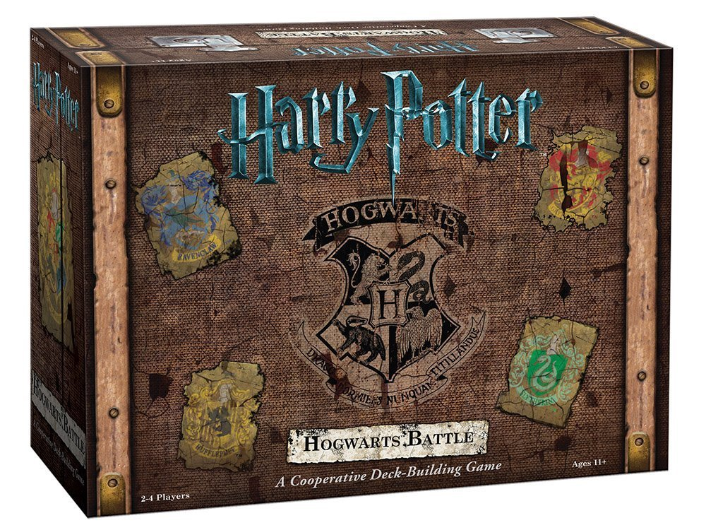 Harry Potter Hogwarts Battle Cooperative Deck Building Card Game from USAopoly - Official Harry Potter Licensed Fantasy Board Game