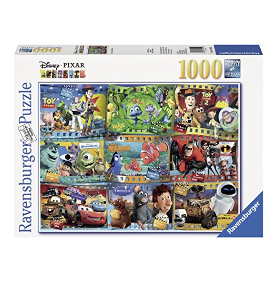 Ravensburger Disney-Pixar Movies 1000-Piece Puzzle with SoftClick Technology for a Seamless Continuous Fit