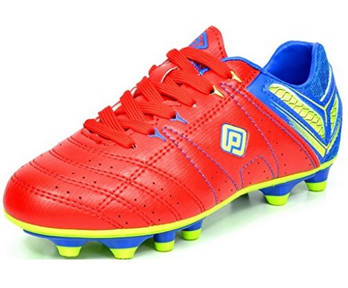 Dream Pairs Kids Lace Up Soccer Shoes