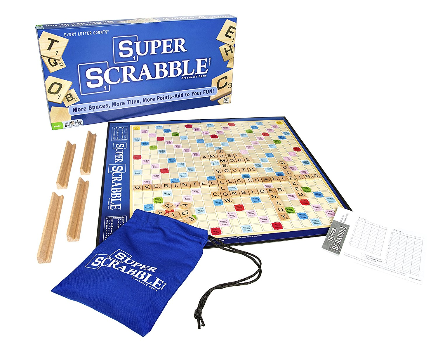 Winning Moves Games Super Scrabble