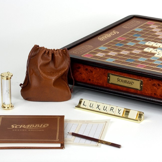 Winning Solutions Luxury Scrabble Game