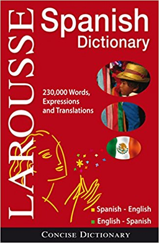 Larousse Concise Dictionary: Spanish-English/English-Spanish Bilingual Edition – Available in Hardcover or Paperback