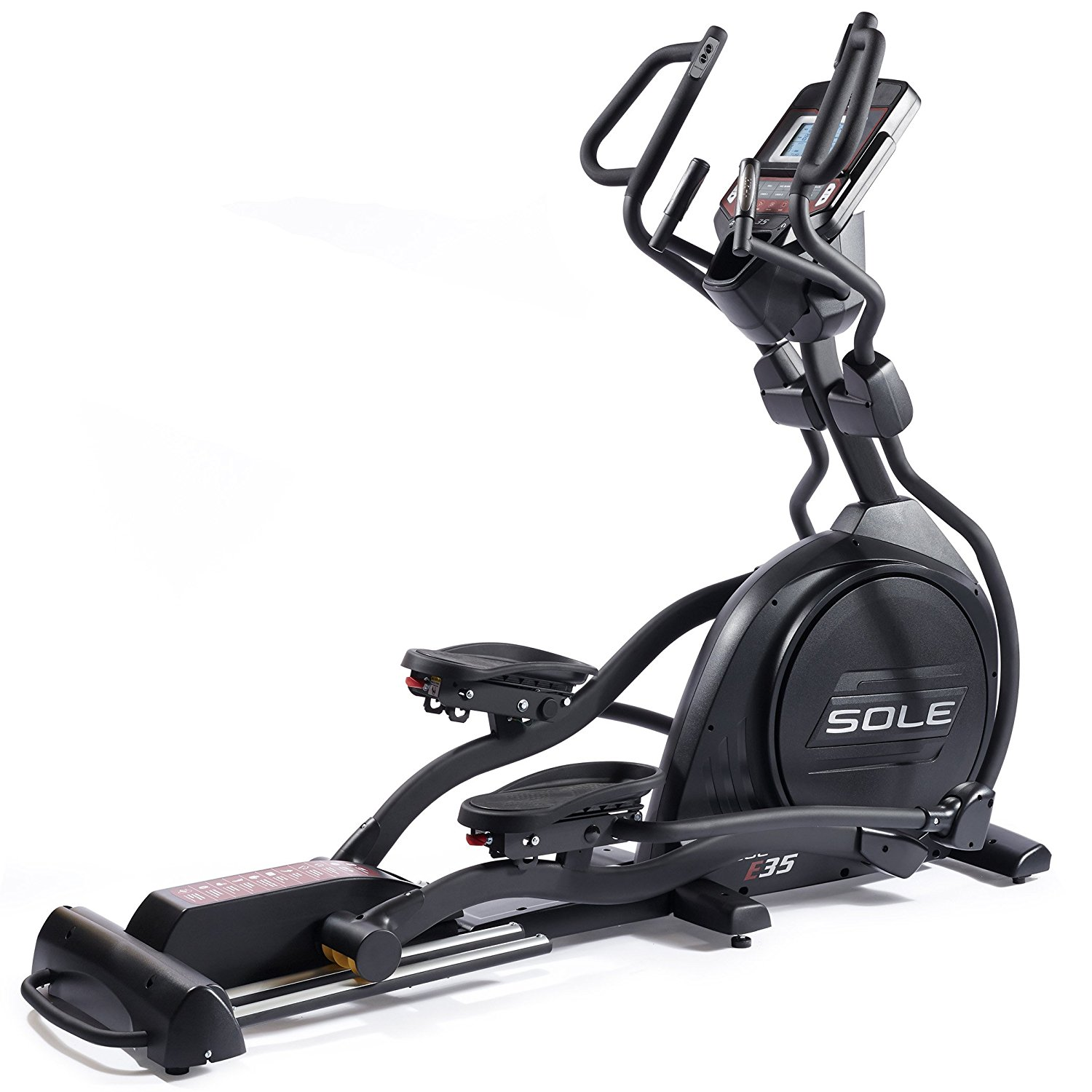 Sole Fitness E35 Elliptical Machine With Heart Rate Monitor – Available With or Without Expert Assembly