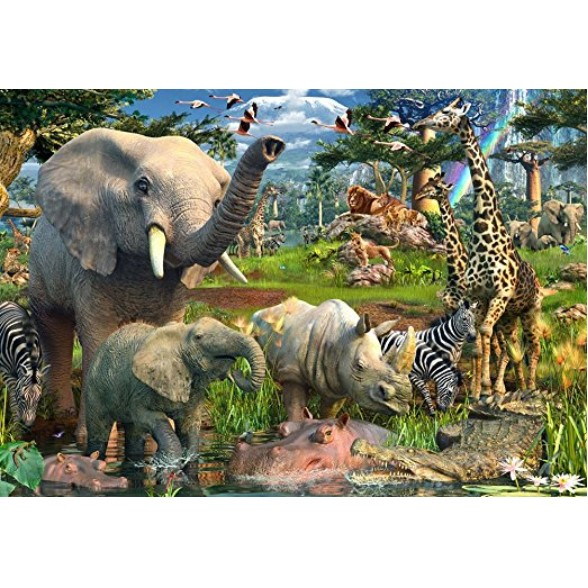 Ravensburger At the Waterhole Puzzle