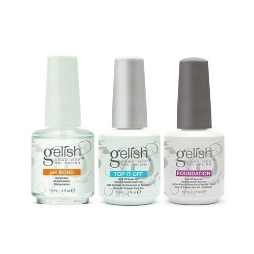 Gelish Basic Base and Top Coat Kit
