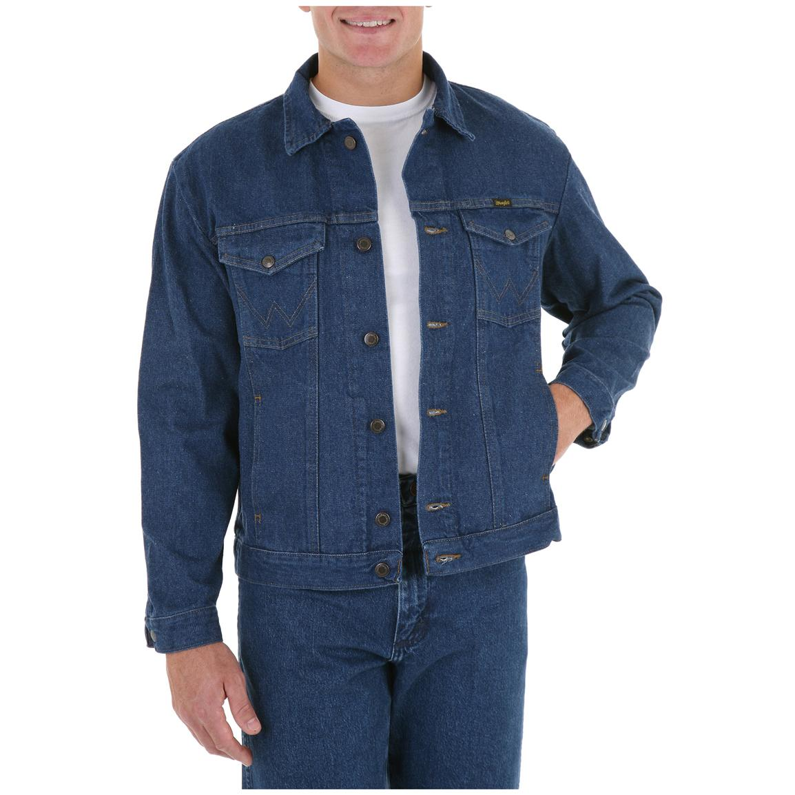 Wrangler Rugged Wear Unlined Denim Jacket