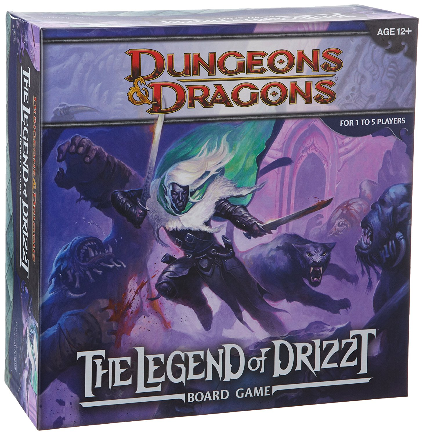 Wizards of the Coast Dungeons and Dragons: The Legend of Drizzt Board Game