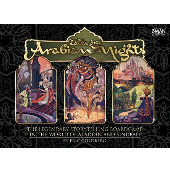 Z-Man Games Tales Of The Arabian Night Game