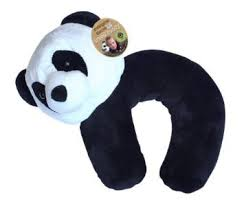 Endangered Species Kids Panda Travel Pillow
