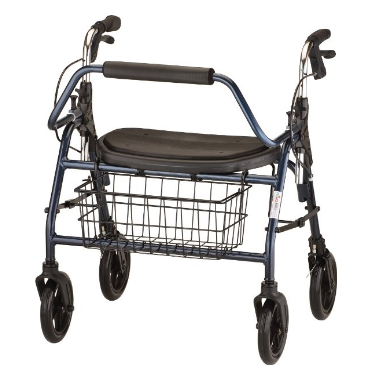Nova Medical Products Rolling Walker 4216BL - Blue