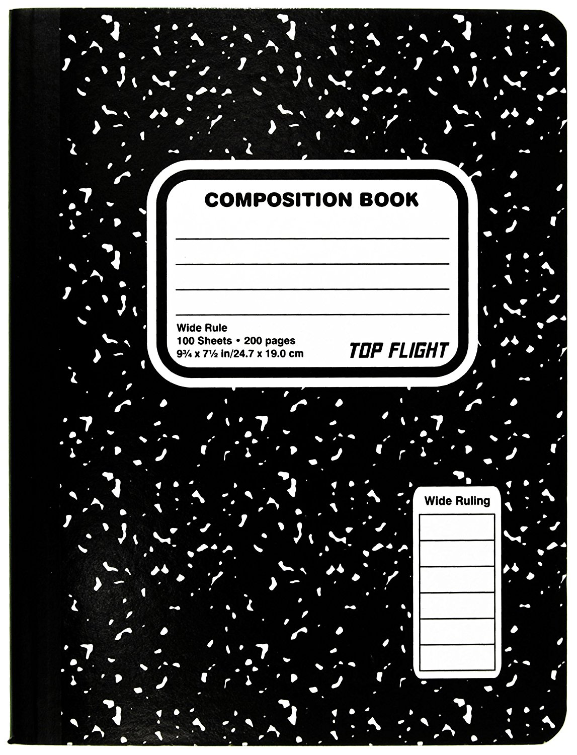 Top Flight Sewn Composition Book
