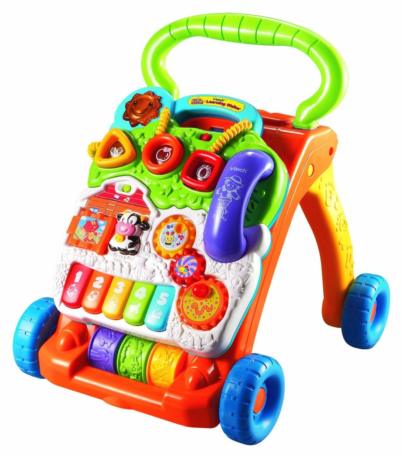 VTech Sit-to-Stand Learning Walker – Available in Orange and Lavender