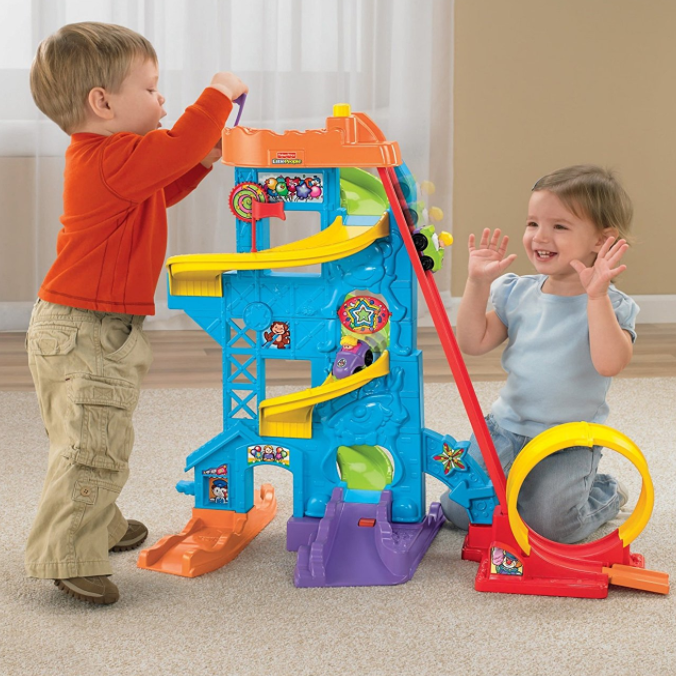 Fisher-Price Loops 'n Swoops Amusement Park