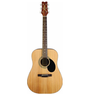 Jasmine Natural Acoustic Guitar – Available as a Bundle