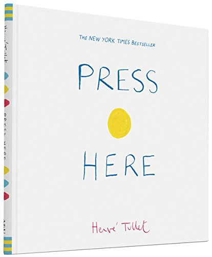 Herve Tullet Press Here Book