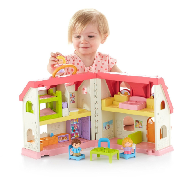 Fisher-Price Little People Surprise Sounds Home