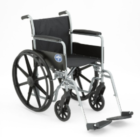 Medline Strong and Sturdy Wheelchair