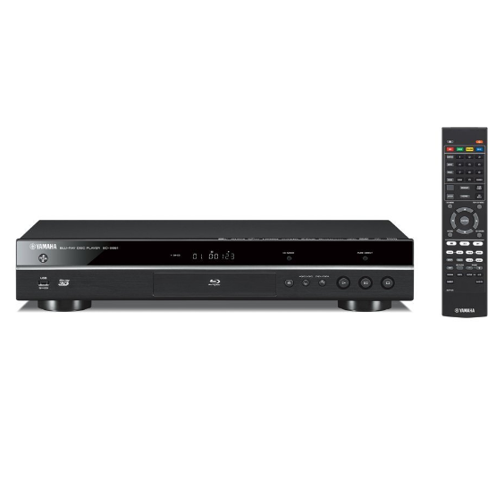 Yamaha BD-S681 Blu-ray Disc and DVD Player with Built-in Wi-Fi and Wi-Fi Direct - 4K Ultra HD Video Upscaling