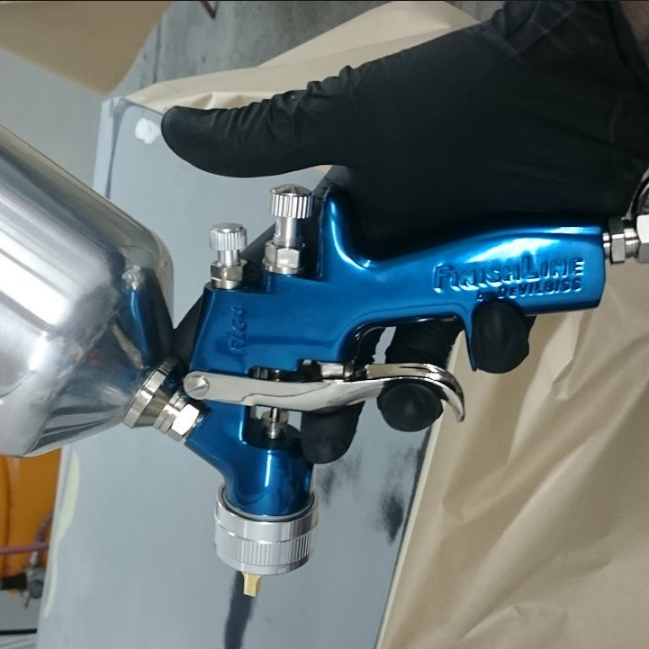 DeVilbiss FinishLine FLG-4 HVLP Gravity Feed Spray Gun