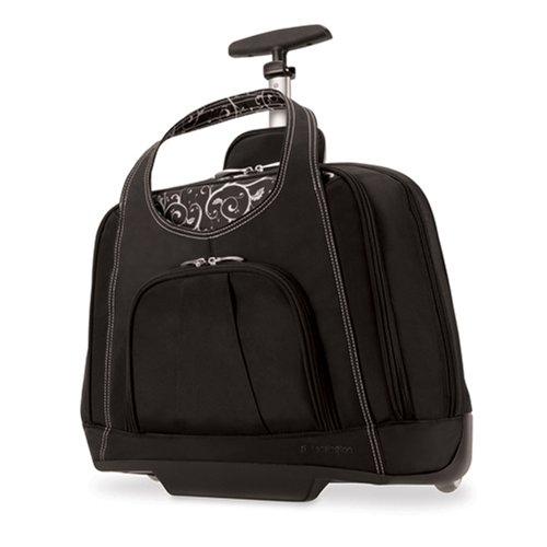 Kensington Contour Balance Notebook Roller Bag - Fits Most 15-Inch Notebooks, Impact Resistant Notebook Compartment – Available in 2 Sizes