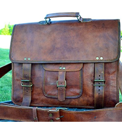 Komal's Passion Classic Briefcase Messenger Bag