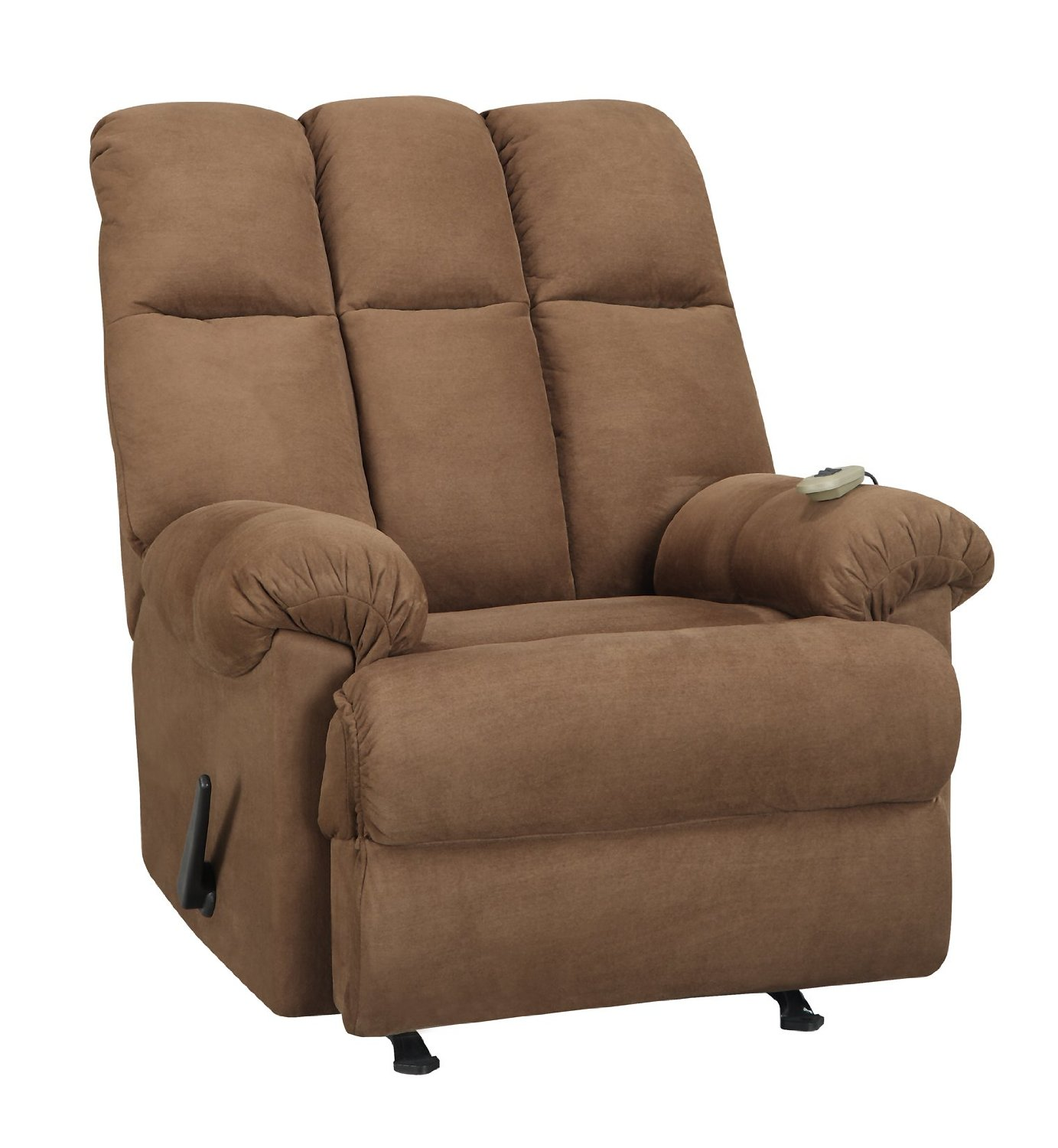 Dorel Living Padded Massage Recliner and Rocker