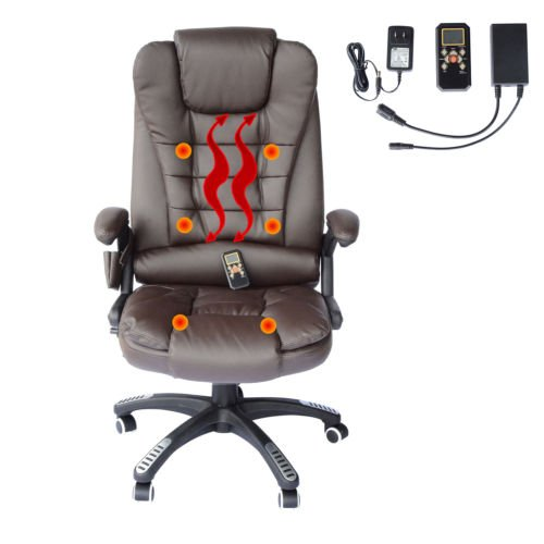 HomCom Home Office Executive Massage Chair